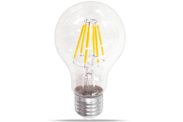 Lâmpada Led Bulbo com Filamento 6w Bivolt 2400k Luz Amarela - Casanova