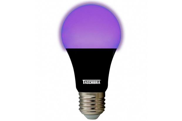Lâmpada Led Bulbo Tkl 7w Autovolt Luz Negra - Taschibra