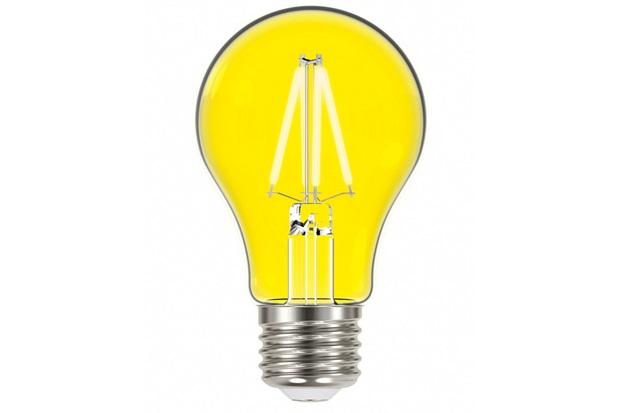 Lâmpada Led com Filamento Color a60 4w Autovolt Luz Amarela - Taschibra