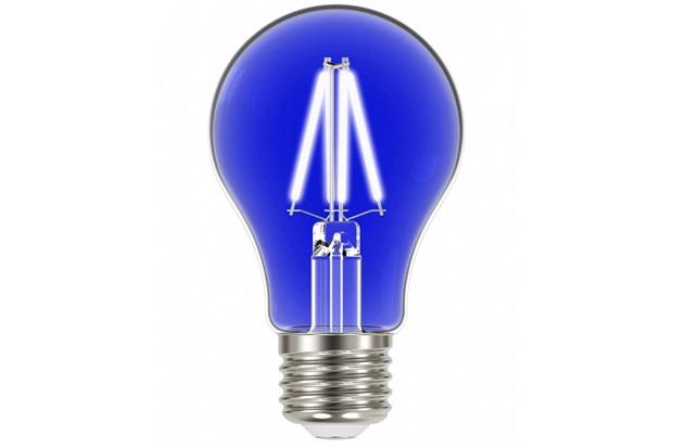 Lâmpada Led com Filamento Color a60 4w Autovolt Luz Azul - Taschibra