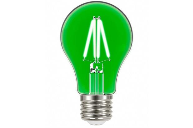 Lâmpada Led com Filamento Color a60 4w Autovolt Luz Verde - Taschibra