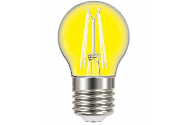 Lâmpada Led com Filamento Color Bolinha G45 4w Autovolt Luz Amarela - Taschibra