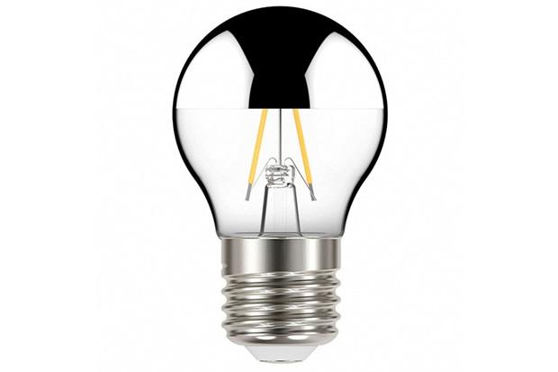 Lâmpada Led com Filamento Defletora Espelhada Globo G45 3w Autovolt Luz Quente - Taschibra
