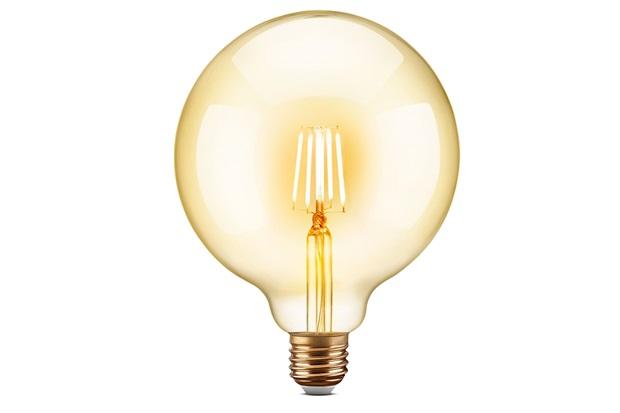 Lâmpada Led Filamento G125 4w Bivolt 2200k - Elgin