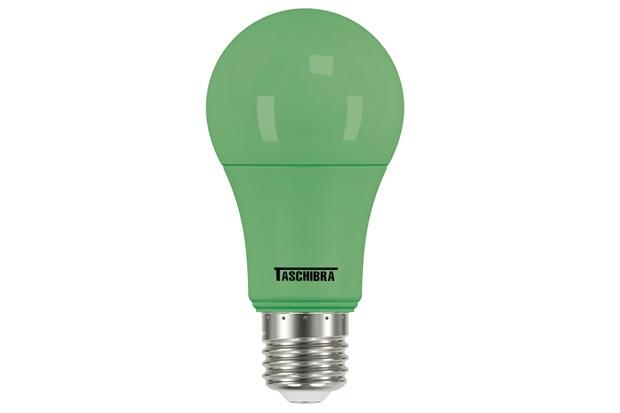 Lâmpada Led Tkl Colors 5w Bivolt Verde - Taschibra