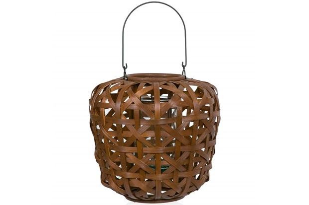 Lanterna Bamboo Sophie 36cm Marrom - Casa Etna