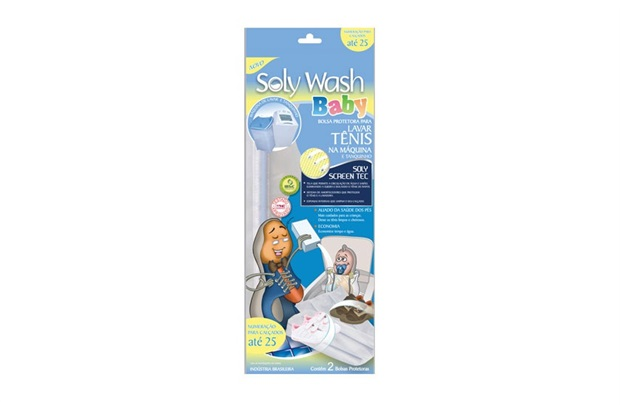 Lava Tênis Baby Soly Wash - Inject Express