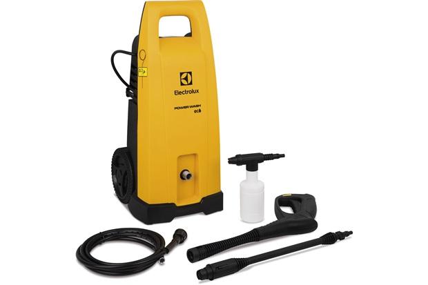 Lavadora de Alta Pressão 1450w 220v Powerwash Eco Amarelo E Preto - Electrolux