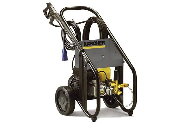 Lavadora de Alta Pressão Profissional Hd 7/15-4 Maxi 4000w 380v Cinza E Preta - Karcher
