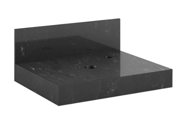 Lavatório para Cuba Top 50 52,2x42cm Black - Blu Lavatórios