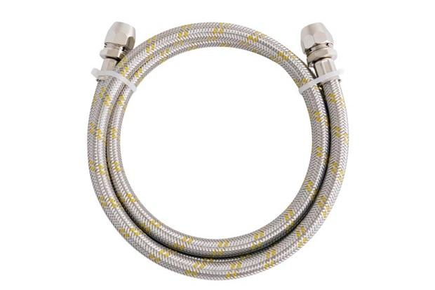 Ligação Flexível em Aço para Instalação de Gás com 1,2 Metro - Blukit