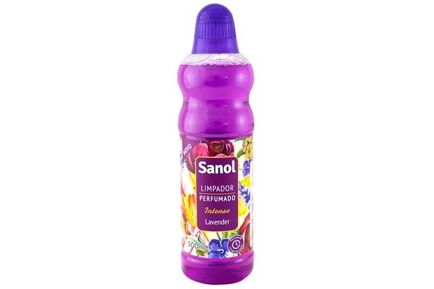 Limpador Perfumado Intense Lavender 500ml - Sanol