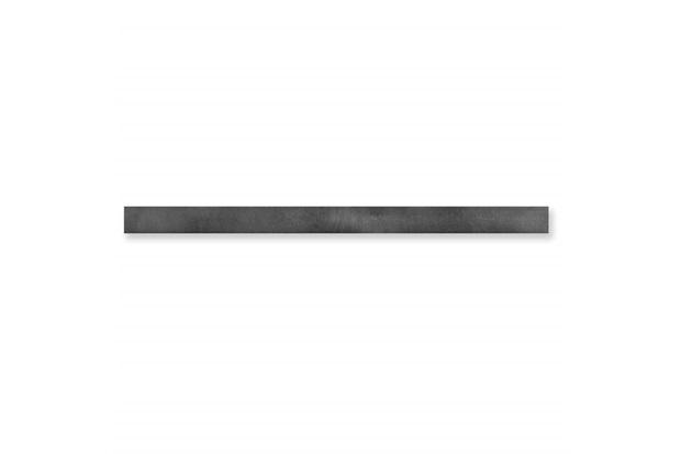 Listelo Borda Reta Rock Steel Matte Lux Preto 4x120cm - Cerâmica Portinari