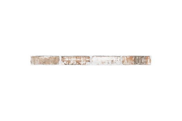 Listelo Brick Hd Patina Retificado Acetinado Branco 7,1 X 87,7cm - Portinari