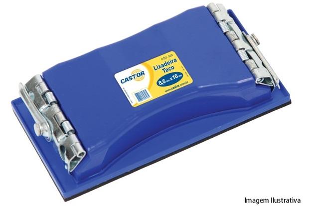 Lixadeira Manual de Plástico Azul - Castor