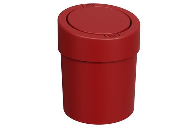 Lixeira Automática Press 5 Litros Vermelho Bold - Coza