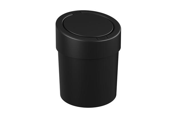 Lixeira Automática Preta 5 Litros - Coza