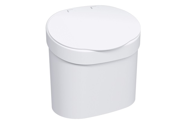 Lixeira para Pia Basic de 4 Litros Branca - Coza