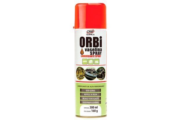 Lubrificante Vaselina Spray Incolor 300ml - Orbi Química
