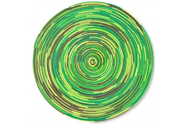 Lugar Americano em Algodão Mixed 38cm Verde - Casa Etna