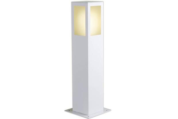 Luminária Balizadora em Alumínio Bolt 50cm Branca - Ideal Iluminação