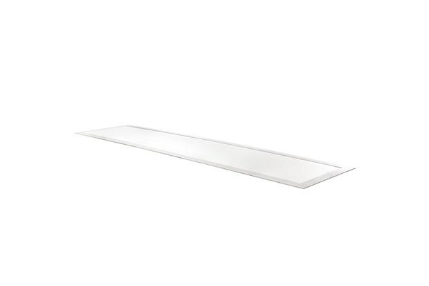 Luminária de Embutir Retangular Slim Led 45w 6500k Bivolt 125x31cm Luz Branca - Bronzearte