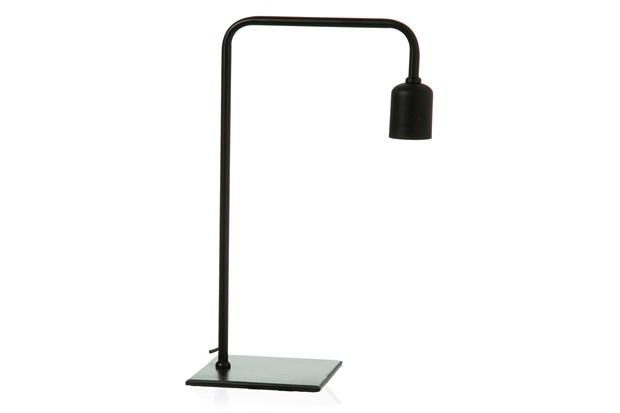 Luminária Industrial 35cm Preta - Casa Etna