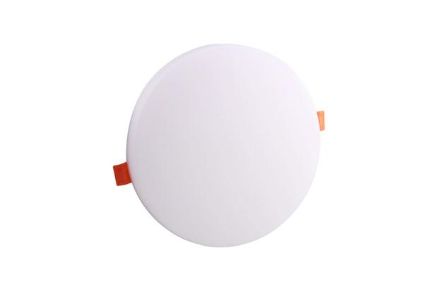 Luminária Led de Embutir Redonda Frameless 32w Bivolt 22cm 6500k Luz Branca - Bronzearte