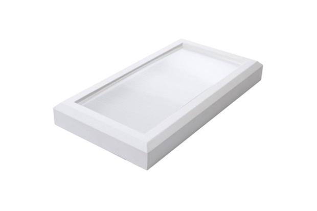 Luminária Led para 2 Lâmpada 17w Bivolt Soft Branca 6000k Luz Branca - RCG Tecnologia