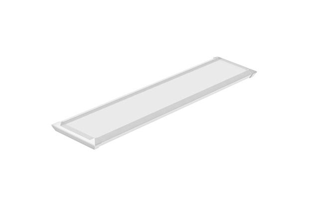 Luminária Led Tl Slim 5 Autovolt em Alumínio 10w Branca - Taschibra