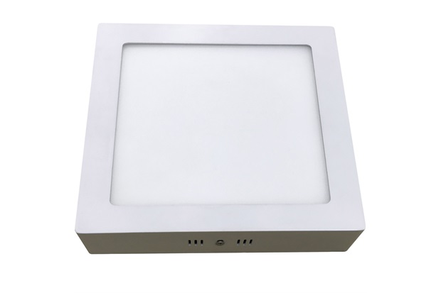 Luminária Painel Led de Sobrepor Quadrada Home 24w 6000k Bivolt Branca - Bronzearte