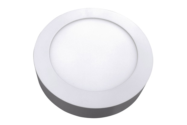 Luminária Painel Led de Sobrepor Redonda Home 24w 3000k Bivolt Branca - Bronzearte