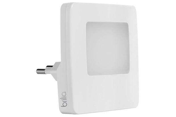 Luz Noturna Led Quadrada com Sensor 5w Bivolt Smart 3000k - Brilia