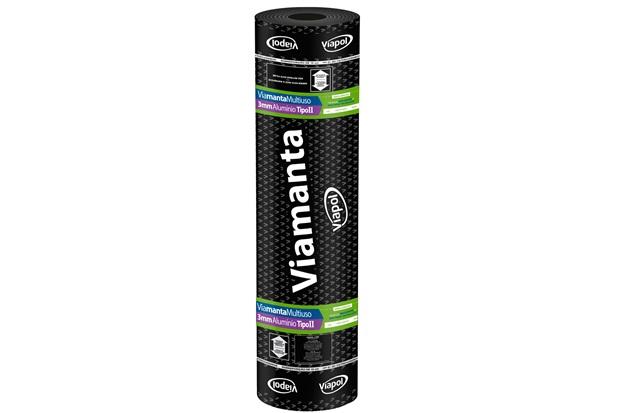 Manta Asfáltica Multiuso Alumínio 3mm - Viapol