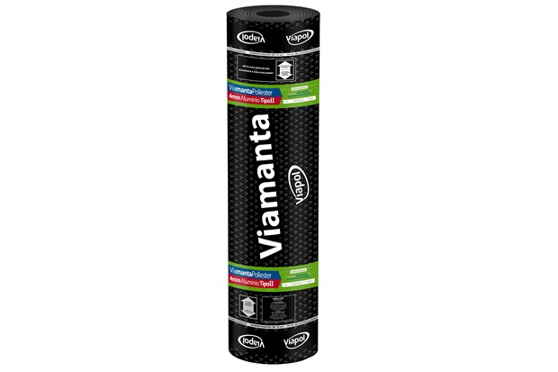 Manta Asfáltica Poliéster Alumínio 4mm - Viapol