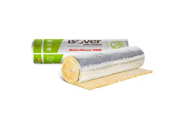 Manta em Lã de Vidro Solar Maxxi Pró 1,20 X 25 Metros - Brasilit