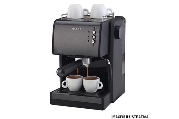 Máquina de Café Expresso E Capuccino Ref. Lb7001       - Qlink