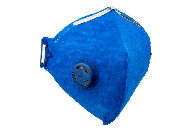 Máscara com Válvula Pro Safety Pff2 Azul - Delta Plus
