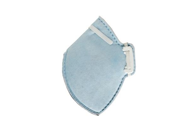 Máscara de Proteção Descartável para Uso Profissional Cg431 Pff2 Azul - Carbografite