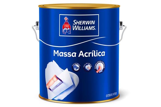 Massa Acrílica Metalatex Branca 3,6 Litros - Sherwin Williams