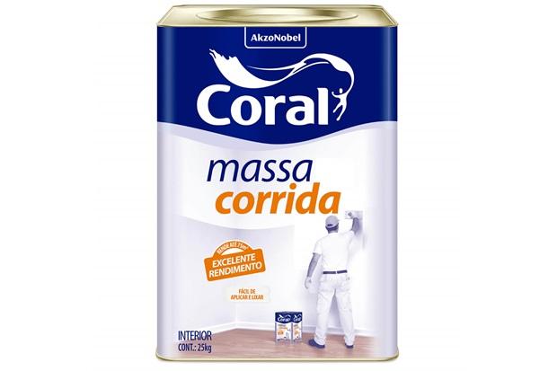 Massa Corrida Branca 25kg - Coral