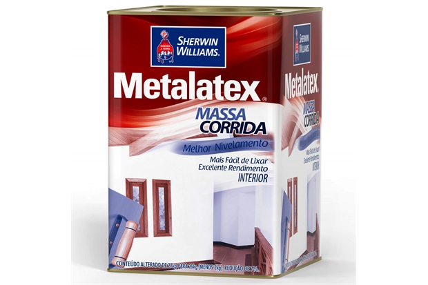 Massa Corrida Metalatex 18 Litros - Sherwin Williams