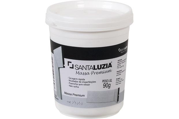 Massa Niveladora Premium Flex Prata 90g - Santa Luzia