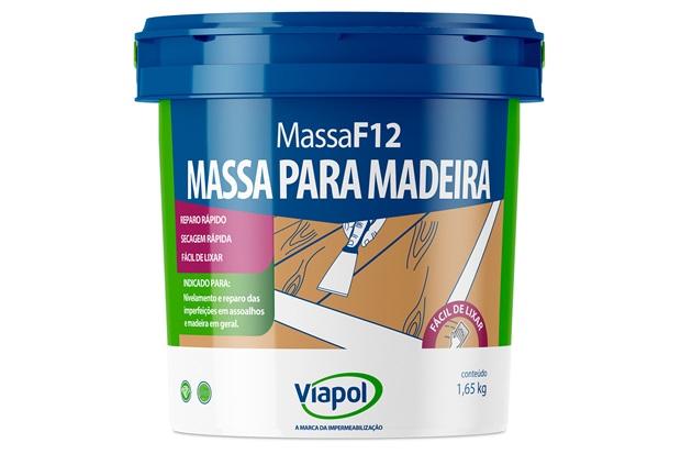 Massa para Madeira Cerejeira F12 900ml  - Fusecolor
