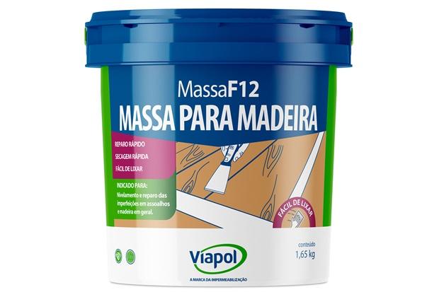 Massa para Madeira F-12 Fusecolor Marfim 900 Ml 151 - Fusecolor