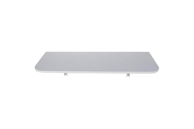 Mesa Dobrável em Mdp com Suporte 100x50cm Branca - Multivisão
