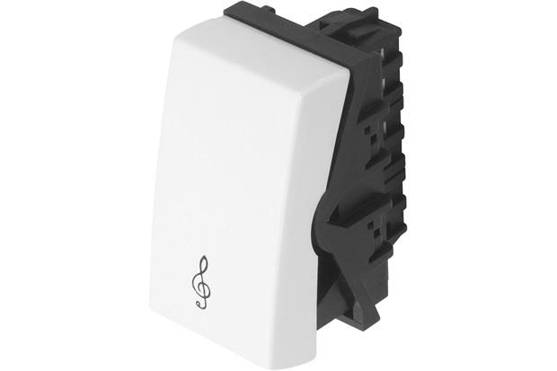 Módulo Campainha Modulare 10a 250v Branco - Fame