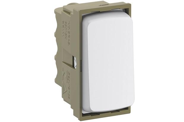 Módulo de Interruptor Simples 10a 250v Zeffia Branco - Pial Legrand
