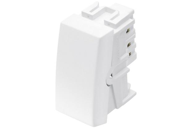 Módulo Interruptor Bipolar Intermediário Habitat 10a Branco - Fame