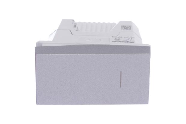 Módulo Interruptor Simples 10a 250v Orion Cinza - Schneider